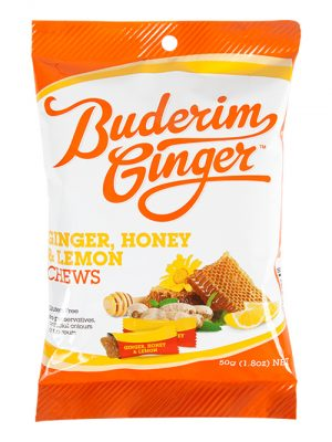 Buderim Ginger Honey Ginger Lemon Chews Copy