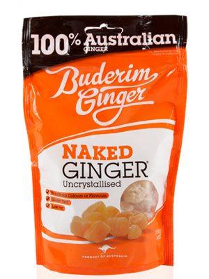 Buderim Ginger Naked Ginger 250g
