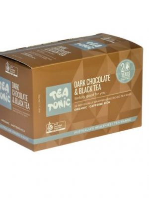 Dark Chocolate & Black Tea Bags