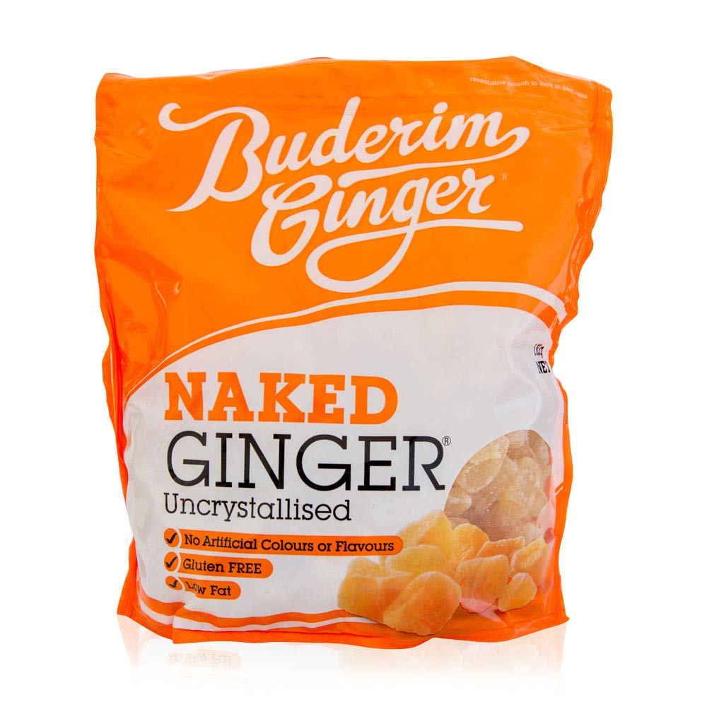 Naked Ginger 200g - Buderim Ginger Shop