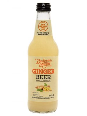 Buderim Ginger Beer Nonalcoholic Bottle 330ml 2