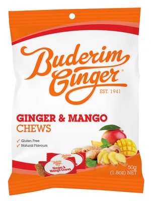 Buderim Ginger Manago Chews 50g 1