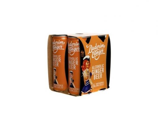Alc Ginger Beer Can 4pk