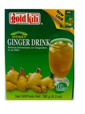 Honey Ginger Drink 2