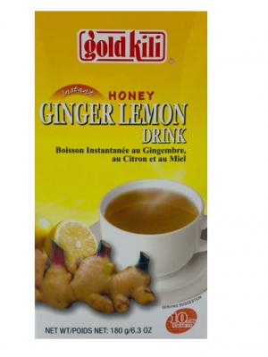 Honey Ginger & Lemon Drink 2
