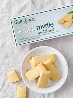 Lemon Myrtle Shortbread