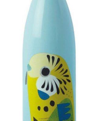 Product 500ml Stainless Steel Bottle Budgerigar