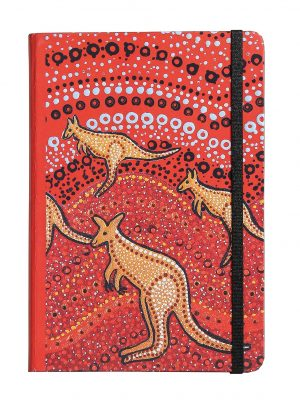 Product Dreamtime Journal A5 Kangaroo Sunset01