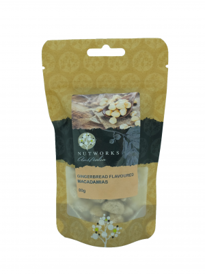 Product Gingerbread Flavoured Macadamias 80g01