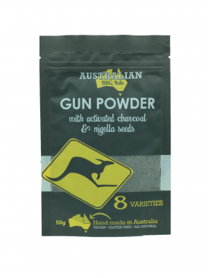 Product Gun Powder With Activated Charcoal Nigella Seeds01