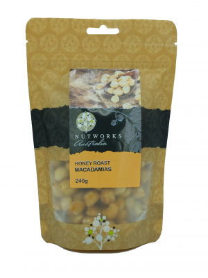 Product Honey Roasted Macadamias 240g