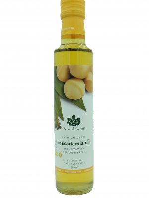 Product Macadamia Oil Infused With Lemon Myrtle01