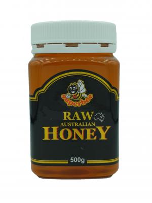 Product Raw Honey 500g01