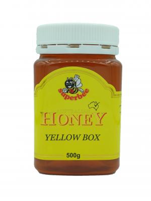 Product Yellow Box Honey 500g01