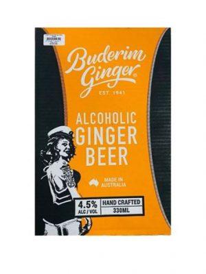 Alc Ginger Beer Bottle Ctn