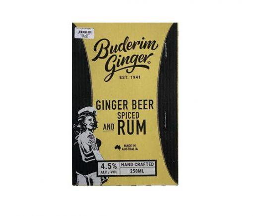 Ginger Beer & Rum Can Ctn
