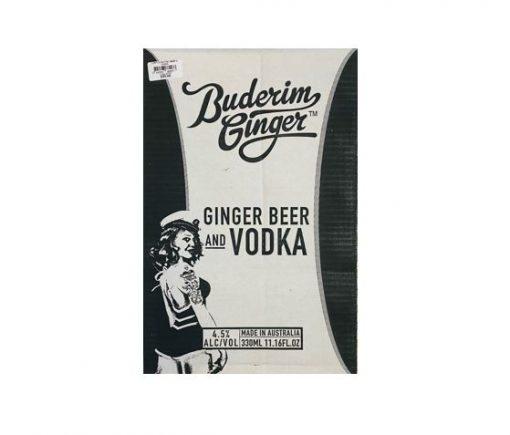 Ginger Beer & Vodka Ctn