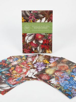 Product Australian Wildflower Note Card Pack01