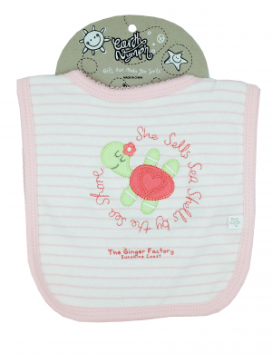 Product Bib Baby Girl Turtle01