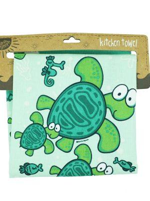 Product Kitchen Towel Big Eye Turtle01
