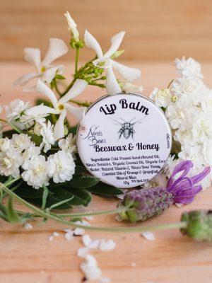 Product Lip Balm Beeswax Honey01