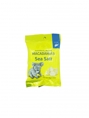 Product Sea Salt Flavoured Macadamia Nuts 50g01