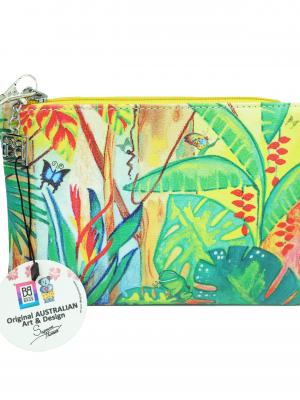 Product Simple Zipped Purse Rainforest Tropical Magic01