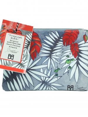 Product Simple Zipped Purse Tropical Rainforest01