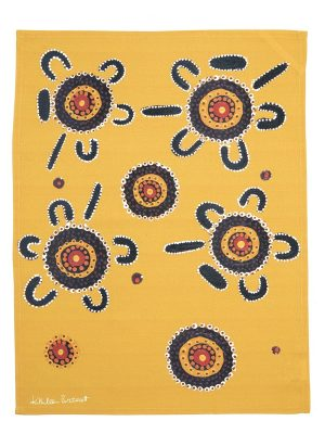 Product Tea Towel Bush Tucker Design01