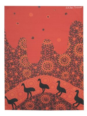 Product Tea Towel Emus01