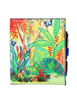 Product Travel Notepad Passport Cover Rainforest Tropical Magic01