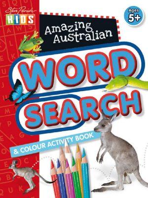 Lec37411 Steve Parish Amazing Australian Activity Book Word Search