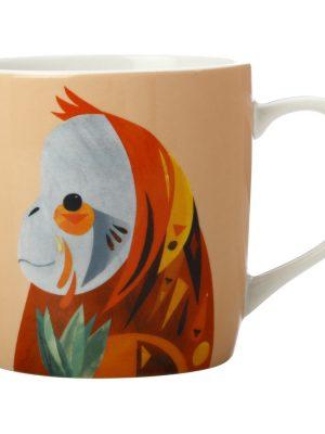 Orangutan+pete+cromer+wildlife+375ml+mug