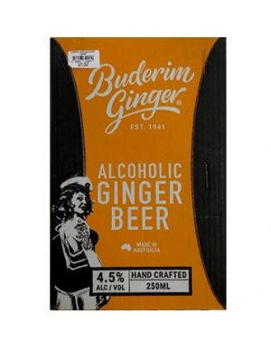Alc Ginger Beer Can Ctn