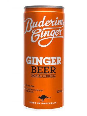 Buderim Ginger Ginger Beer Drink Can 250ml 1
