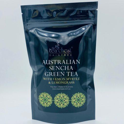 Aus Sencha Green Tea W Lemon Myrtle & Lemongrass