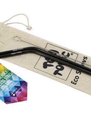 Black Eco Straws