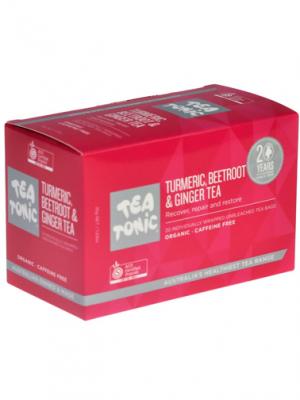Turmeric, Beetroot & Ginger Tea Bags