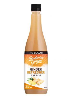 No Sugar Ginger Refresher