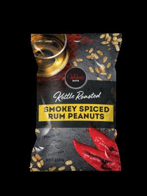 Smokey Spiced Rum Peanuts