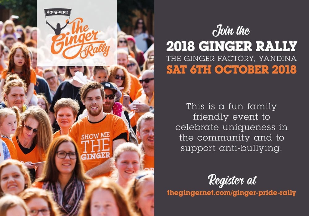 The Ginger Rally 2018 08 28