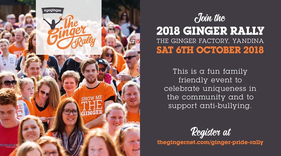 The Ginger Rally Homepage 2018 08 28