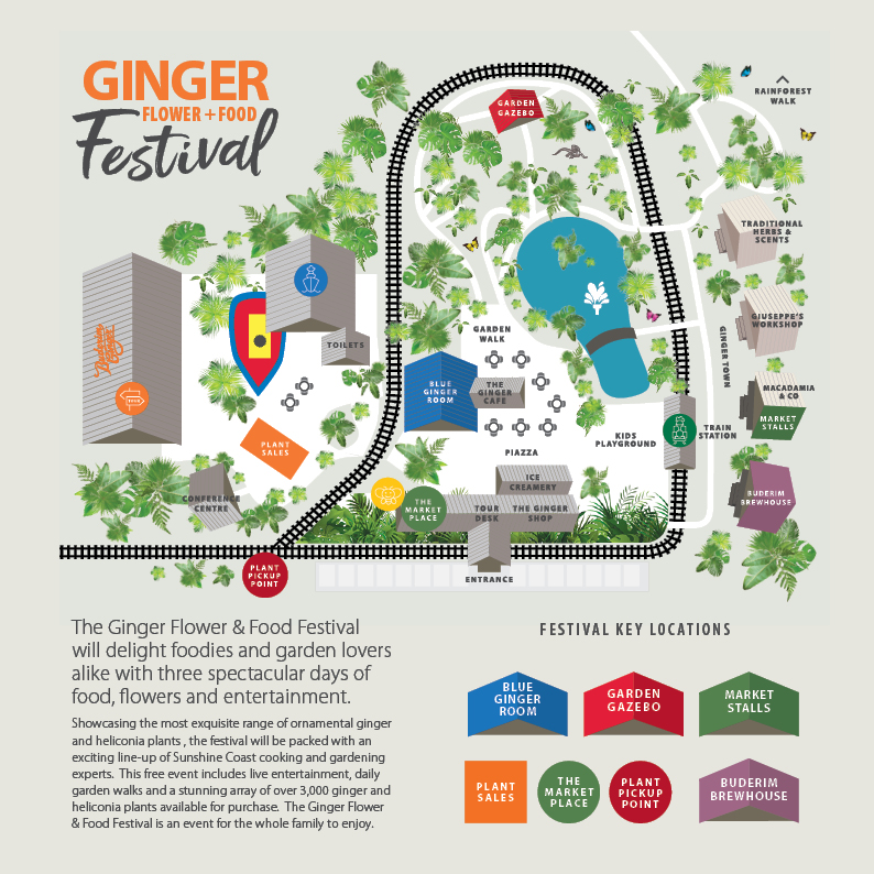 Flower Food Festival Map 2018 12 19