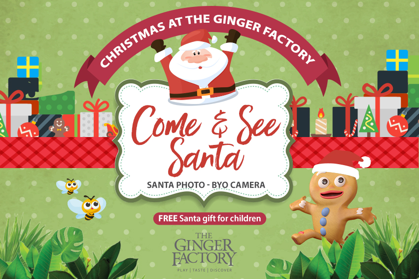 Santa Visits The Ginger Factory 2019 11 11