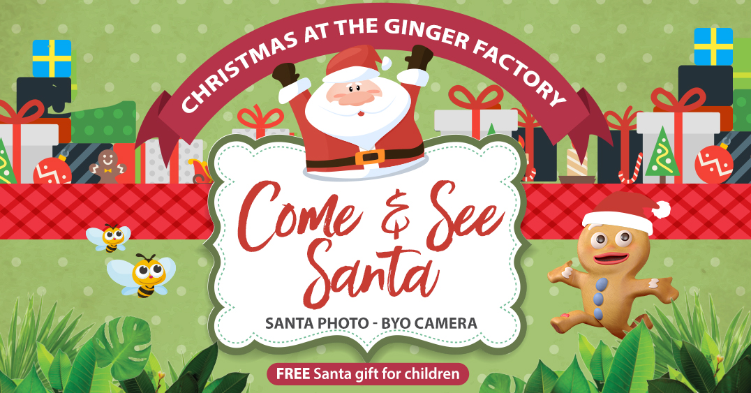 Santa Visits The Ginger Factory Homepage 2019 11 11
