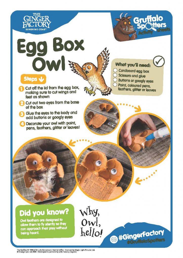 Gf Gruffalo Spotters Activity Sheet Egg Box