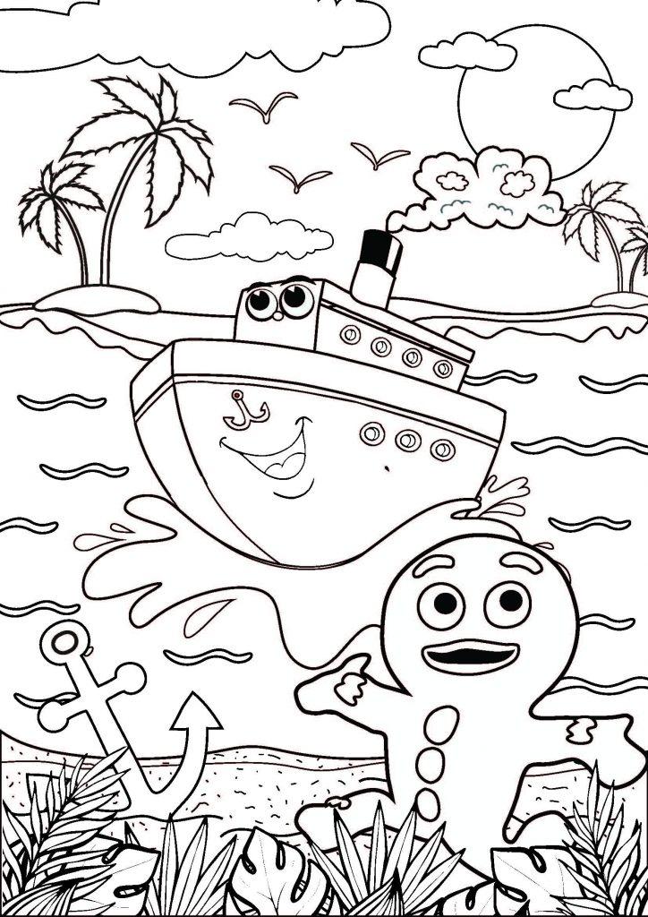 Gf Lockdown Coloring Sheet Overboard