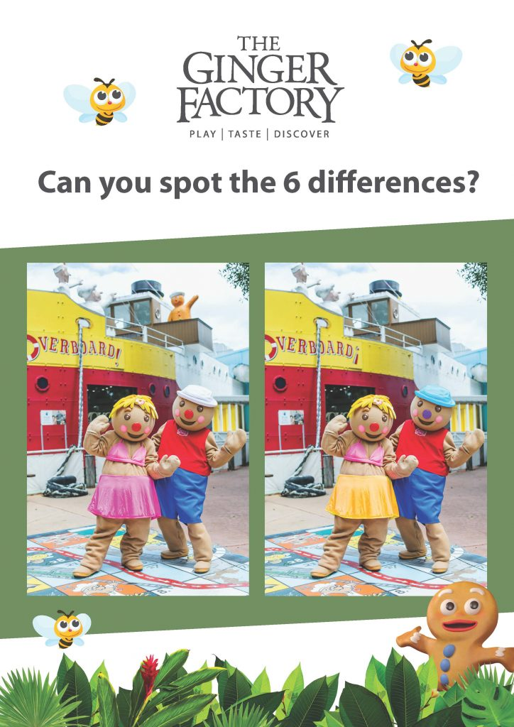 Spot The Difference Sheet1 A4poster