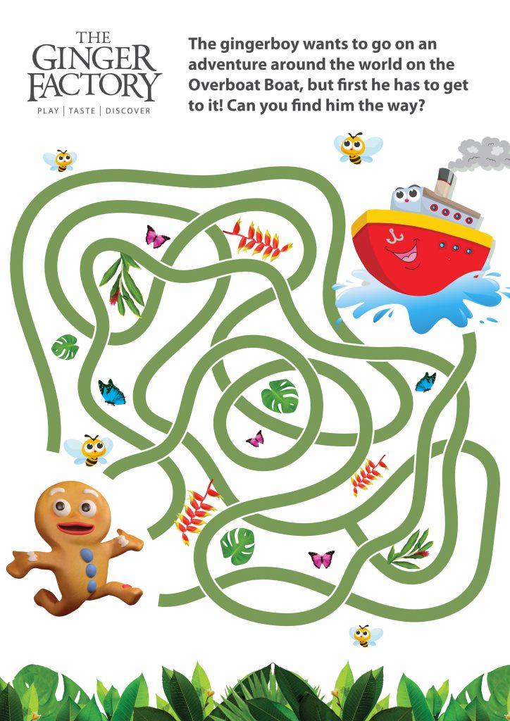 Kids Fun Find The Path